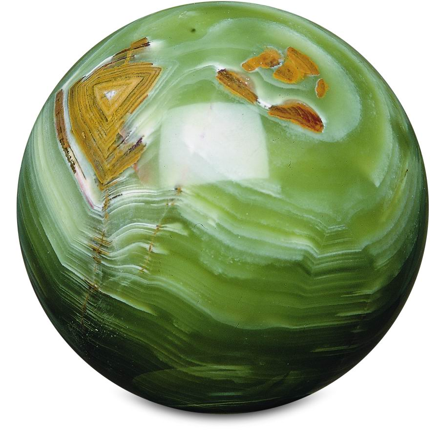 Green Marble Ball : Al hamra handicrafts onyx marble sphere round ball